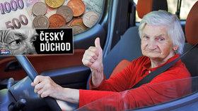 Přibývá seniorů s velmi vysokým důchodem (ilustrační foto).