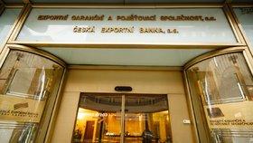 Česká exportní banka čelí vyšetřování svého bývalého pracovníka