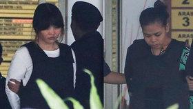 Soud v Malajsii šetří smrt Kim Čong-nama: Obžalované tvrdí, že jsou nevinné.