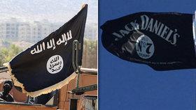 Švýcaři si spletli logo Jack Daniels s logem Islámského státu.