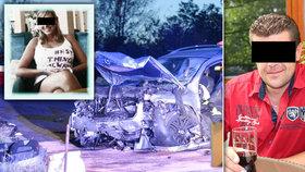 Pavel D. (†40) z tragické nehody u Velvar: Přesně před 13 lety boural opilý na stejném místě.