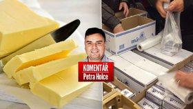 Cenu másla si Češi zvyšují sami svojí hysterií.