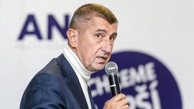 Šéf ANO Andrej Babiš