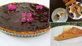 Vyzkoušejte podzimní koláče s vůní a chutí ovoce.