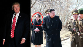 Donald Trump vyhrožuje KLDR. Kim utužuje moc své rodiny.