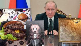 Vladimír Putin oslavil 65. narozeniny.
