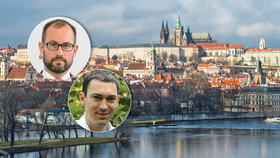 Volební lídr STAN Jan Farský a právník František Korbel mluví o výjimkách v Registru smluv. Týkají se i Kanceláře prezidenta republiky