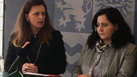Mimořádná tisková konference ke sporům v radě Středočeského kraje