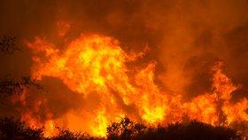 Požáry na severu Kalifornie, se kterými bojuje 8000 hasičů, si vyžádaly nejméně 31 obětí.