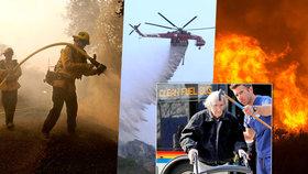 Požáry v Kalifornii bojuje 8 tisíc hasičů