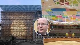 V budově Evropské rady se přiotrávilo 15 lidí. Za týden tam zamíří i Sobotka.