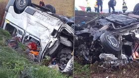 Mrtvé ošetřovatelky z nehody s českým kamionem: Tři z nich nastoupily jen minuty před nehodou