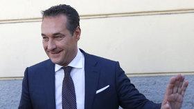 Šéf Svobodné strany Rakouska Strache