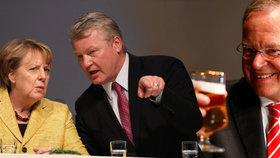 Ani podpora Merkelové nepomohla, lídr CDU Althusmann prohrál v Dolním Sasku se sociálním demokratem Weilem (SPD).