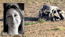 Maltská novinářka se stala obětí bombového útoku. Premiér to označil za útok na svobodu slova.