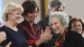 Cenu Franze Kafky v Praze převezme kanadská spisovatelka Margaret Atwoodová.