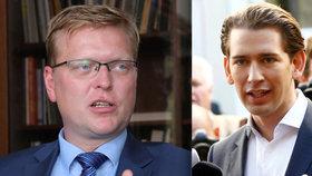 Lidovci vyhráli v Německu a týden před českými volbami i v Rakousku. Sebastian kurz (vpravo) se stane zřejmě nejmladším kancléřem v historii, je mu 31 let. Pavel Bělobrádek (KDU-ČSL) se na takový úspěch těšit nemůže. Proč?
