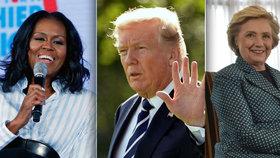 Nahradí v roce 2020 Trumpa Obamová, nebo Clintonová?