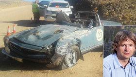 Podnikatel Jan Hradecký ( 51) zemřel při rallye v Namibii.