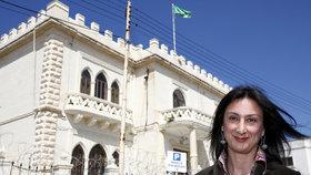 Zavražděná novinářka Daphne Caruanová Galiziová