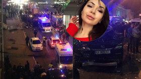 Dcera ukrajinského oligarchy způsobila dopravní nehodu v Charkově.