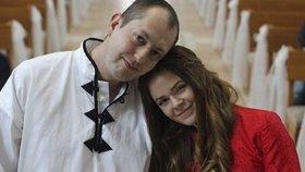 Marta se zesnulým manželem Jaroslavem