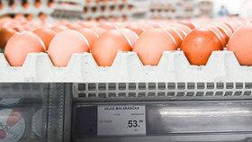 Za vejce si připlatíme.