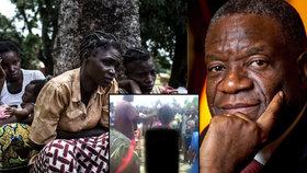 V Kongu je pácháno násilí na ženách.