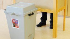 První den voleb do Poslanecké sněmovny ČR