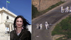Maltská vláda zaplatí 25,7 milionu za informace o vraždě novinářky. Žurnalistku zabil bombový útok.