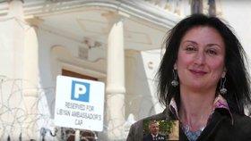 Investigativní novinářka Daphne Caruanová Galiziová