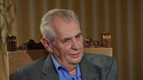 Týrání starého a nemocného člověka. Tak vidí útoky na Miloše Zemana spisovatel David Zábranský.