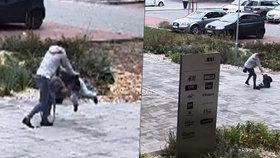 Otřesné záběry: Matka hodila s vlastním synem o zem.