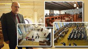 Aparát Sněmovny hledá místnosti pro poslanecké kluby. Devět stran ještě nikdy v historii Sněmovny nebylo.