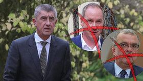 Andrej Babiš si odškrtl TOP 09 a STAN. O vládě už s nimi jednat nebude. Nemá to prý cenu.