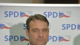 Poslanecký klub SPD má 22 členů, povede jej Radim Fiala, Okamurova pravá ruka.