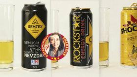 Energetické drinky na jazyku spotřebitelů: Kyselé a umělé