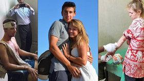 Švýcarské turisty napadl u Tádž Mahalu gang místních. Pár brutálně zbili.