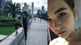Mladičká modelka Vlada Dzyuba (†14) se zřítila k zemi přímo během přehlídky.