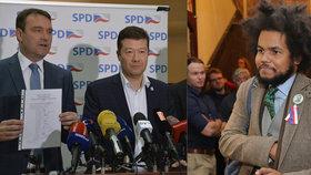 Místopředseda od Okamury Radim Fiala se pustil do Dominika Feriho (TOP 09). Naletěl ale na falešný profil.
