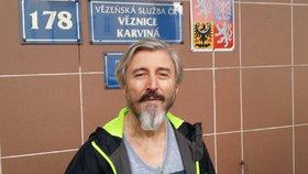 Bohumír Ďuričko (64) opustil v pondělí 30. října po 8 letech vězení.
