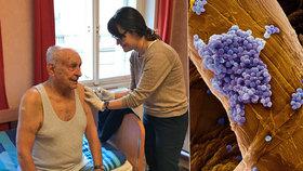 Seniory ohrožuje pneumokok, Česko má nejméně očkování v Evropě.