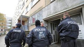 Německá policie zadržela v úterý večer v Kolíně nad Rýnem devětadvacetiletého Tunisana, v jehož bytě se našly podezřelé chemikálie. (Archivní foto)