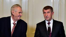 Předseda hnutí ANO Andrej Babiš byl v den schůzky s Okamurou pověřen Zemanem jednáním o sestavení vlády.