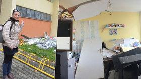 Policie výbuch vyšetřuje jako podezření z obecného ohrožení z nedbalosti, ale zatím nikoho neobvinila.
