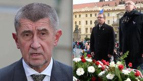 Andrej Babiš chtěl za ministra školství rektora Beka (vpravo), ten však nabídku odmítl.