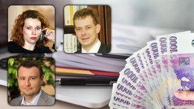 Exministři poskytují státu právní rady, účtují si tisíce korun za hodinu.