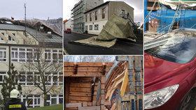 Vichřice napáchala v Česku mnoho škod. Byli jste pojištěni?