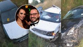 Smrtelná nehoda milence Dvořákové: Neboural poprvé! Čtyři zničená auta na dálnici!