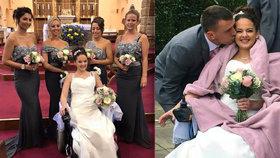 Mladé mamince (28) zjistili smrtící rakovinu. Vdávala se už na vozíčku.